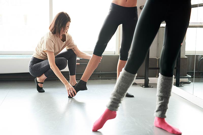 How can I set up a ballet fitness business